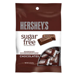 Hershey's Sugar-Free  Chocolates (85g) (BEST BY 30-07-19)