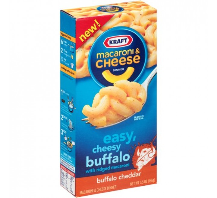 Kraft Buffalo Cheddar Macaroni & Cheese Dinner