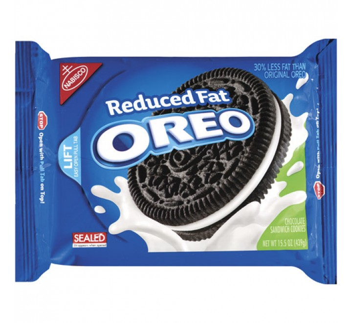 Oreo Reduced Fat Chocolate Sandwich Cookies (405g)