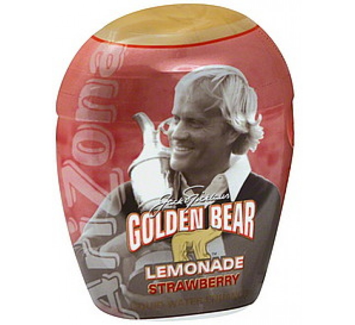 Arizona Water Enhancer Jack Nicklaus Golden Bear Strawberry Lemonade