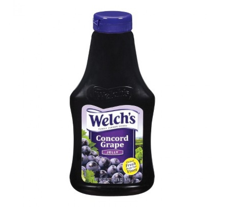 Welch's Squeezable Concord Grape Jelly (624g)