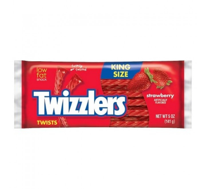 Twizzlers Twists Strawberry King Size