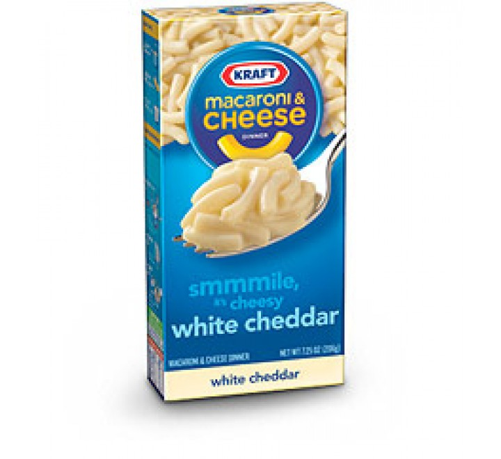 Kraft Macaroni & Cheese White Cheddar