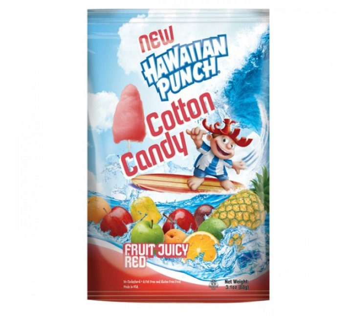 Hawaiian Punch Cotton Candy Bag