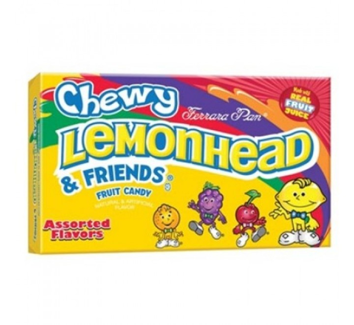 Chewy Lemonhead & Friends Fruit Candy (170g)