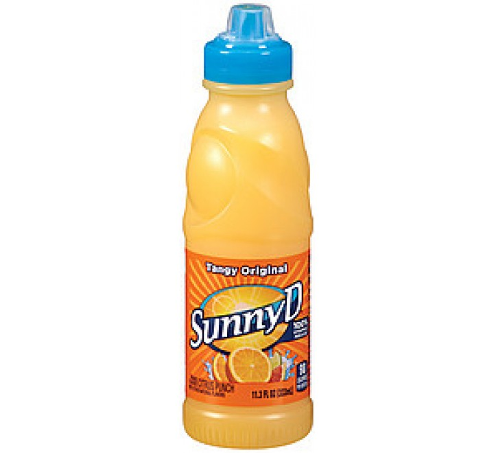 Sunny D Orange Tangy Original Citrus Punch (200ml)