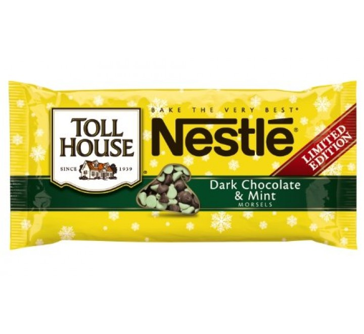 Nestlé Toll House Dark Chocolate & Mint Morsels (283g)