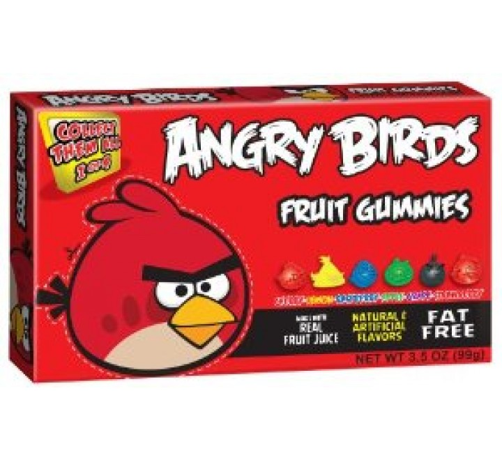 Angry Birds Fruit Gummies Red Box (99g)