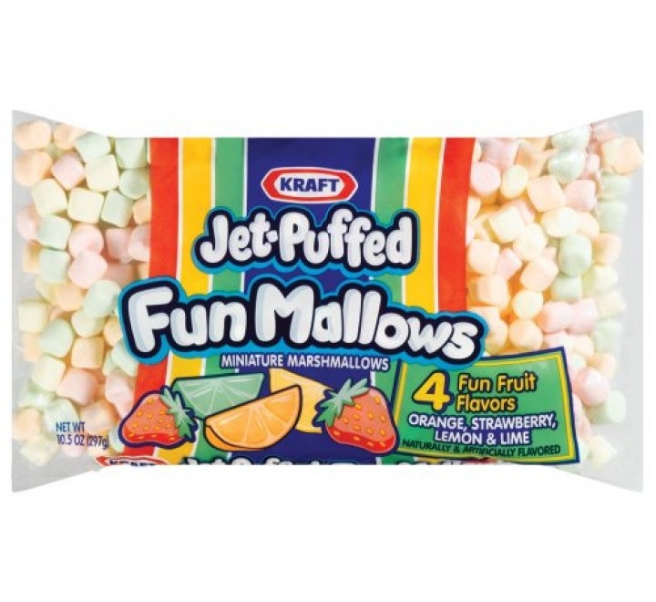Jet-Puffed Fun Mallows (283g)