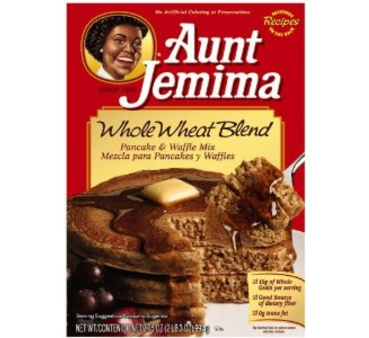 Aunt Jemima Whole Wheat Blend Pancake & Waffle Mix (992g)