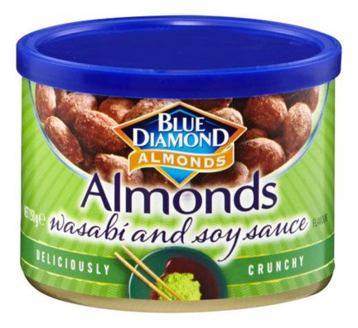 Blue Diamond Wasabi & Soy Sauce Almonds (150g)