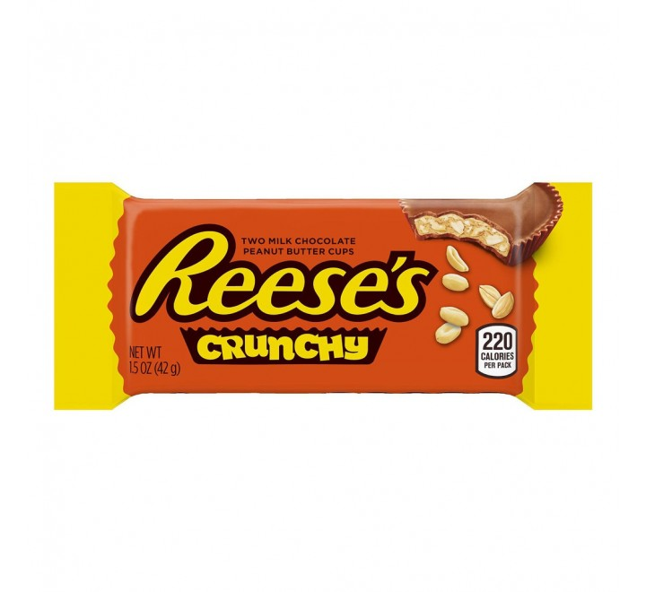 Reese's Crunchy Peanut Butter Cups (42g) USfoodz