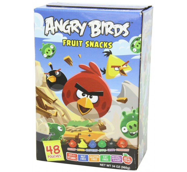 Angry Birds Fruit Snacks 42-pack (823g)