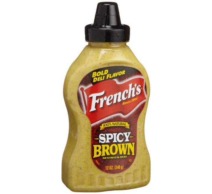 French's Spicy Brown Mustard (340g)