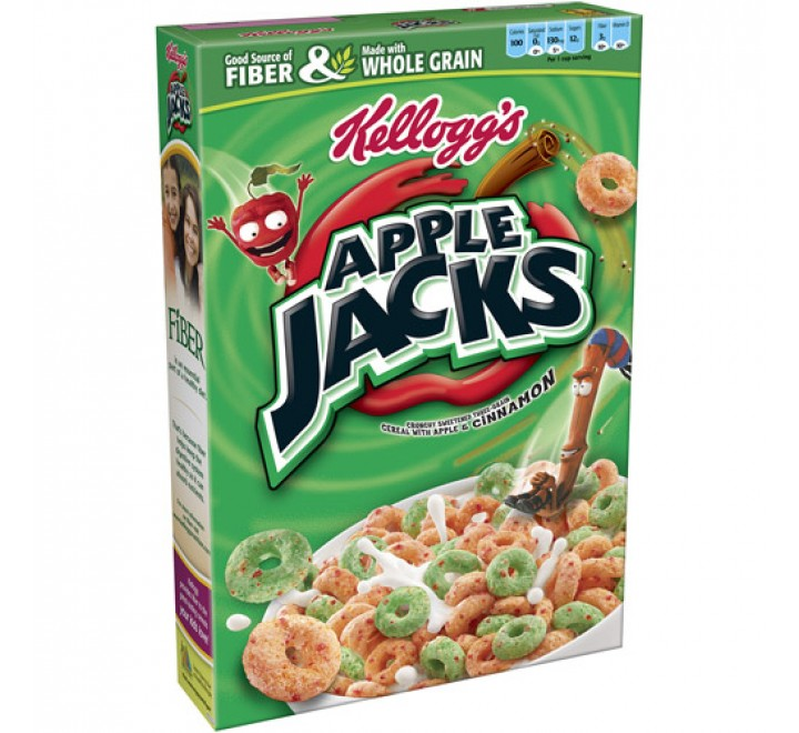Kellogg's Apple Jacks (345g)