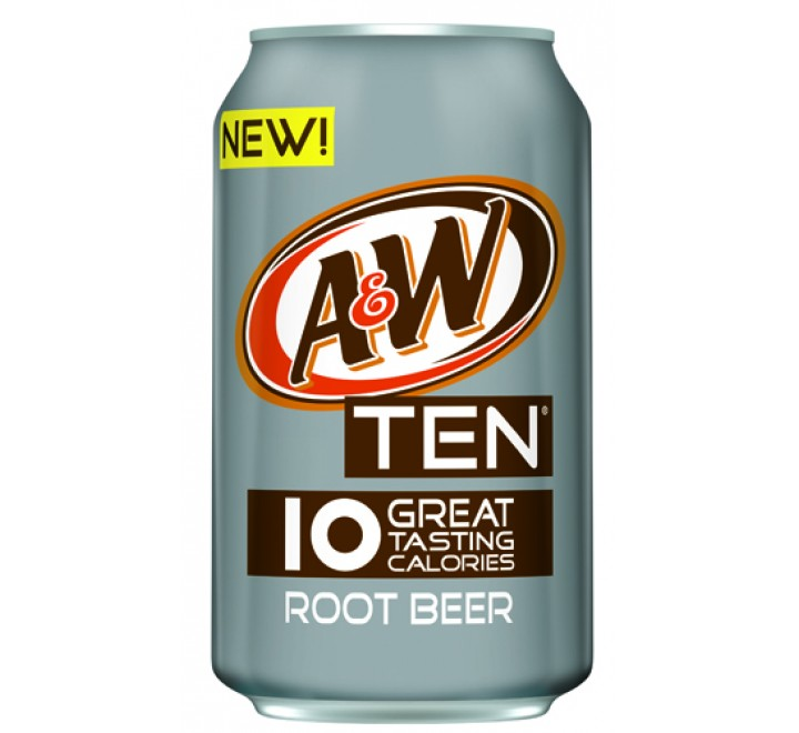 A&W Root Beer TEN (355ml)