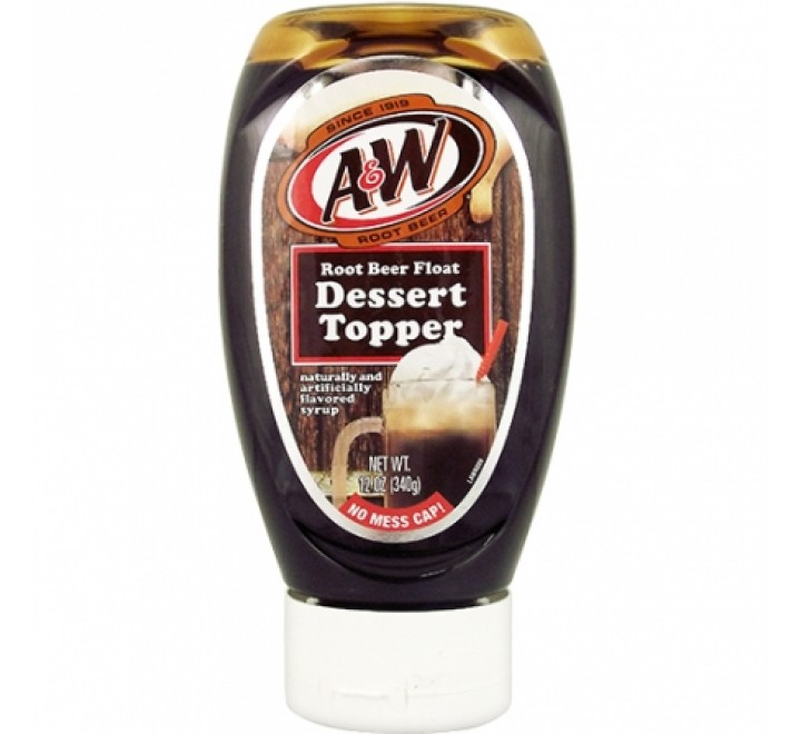 A&W Root Beer Float Dessert Topper (340g)