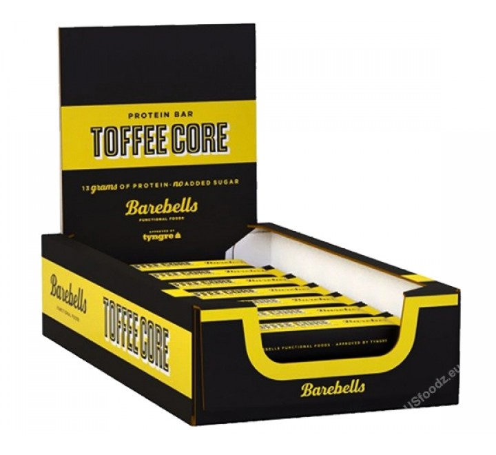 Barebells Protein Bar, Toffee Core (35g) CASE