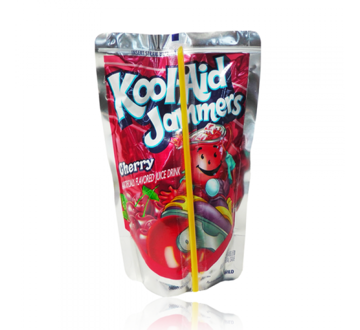 Kool-Aid Jammers Cherry Drink (10-Pack)