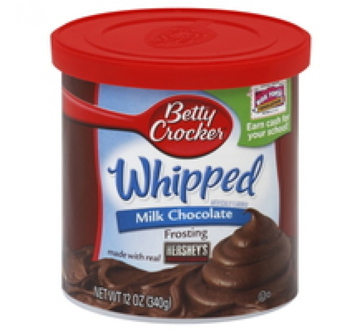 Betty Crocker Whipped Milk Chocolate Frosting