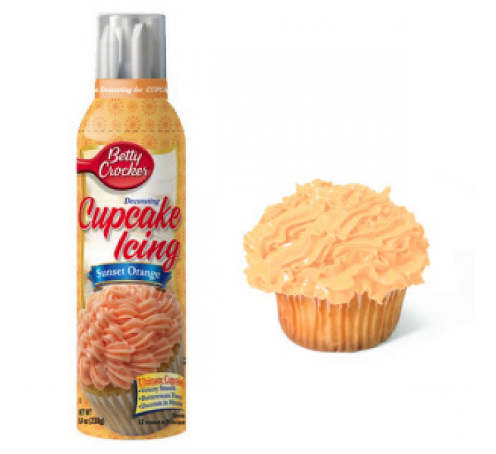 Betty Crocker Cupcake Icing Sunset Orange