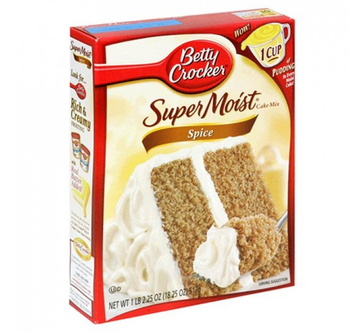 Betty Crocker Spice Cake Mix