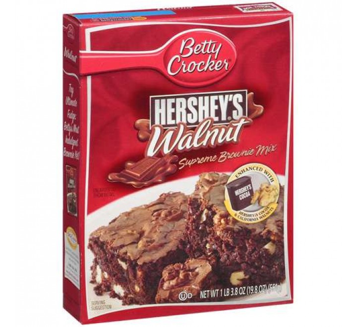 Betty Crocker Hershey's Walnut Supreme Brownie Mix