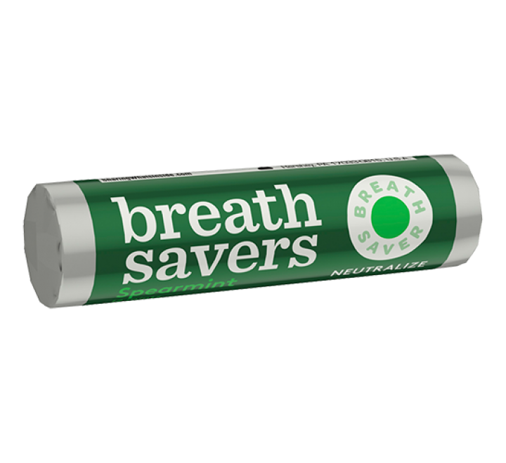 Hershey's Breathsavers Mints, Spearmint (21g)