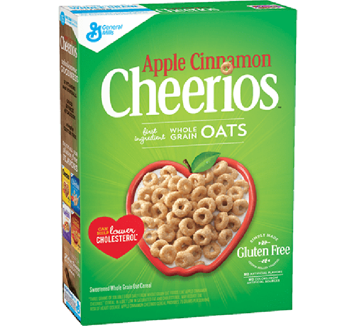 Cheerios Apple Cinnamon, Gluten Free (361g)