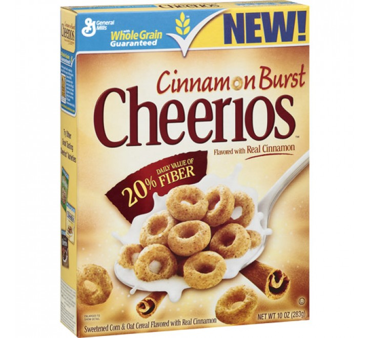 Cheerios Cinnamon Burst (283g)