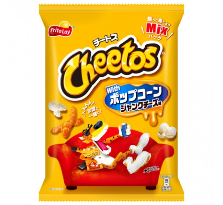 Cheetos Junk Cheese with Popcorn (150g)