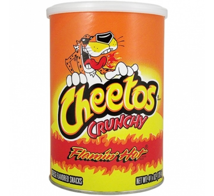 Cheetos Crunchy, Large Bag (227g)