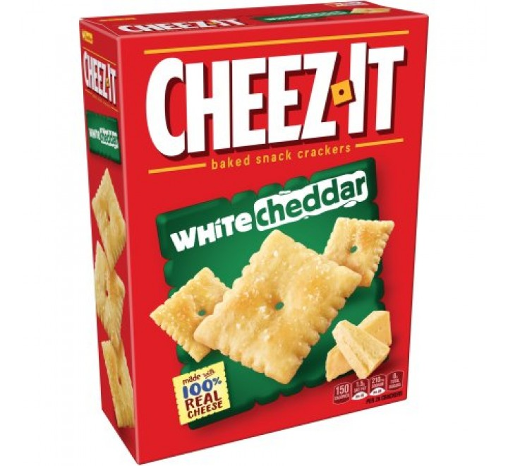 Cheez-It White Cheddar Baked Snack Crackers (388g)