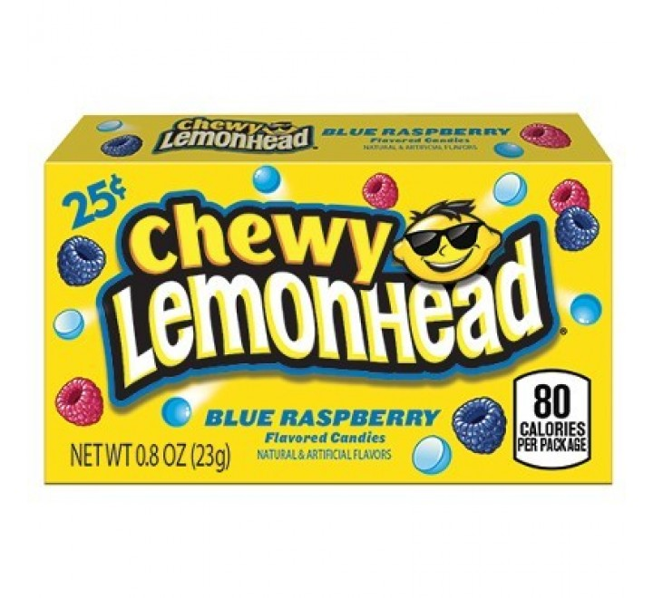 Chewy Lemonhead Blue Raspberry (23g)