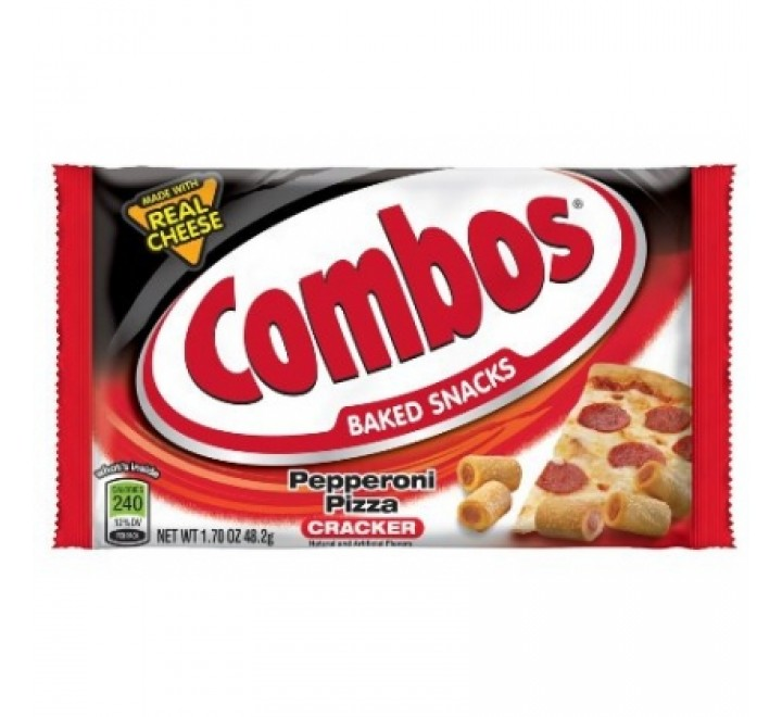Combos Baked Snacks Pepperoni Pizza Cracker (48g)