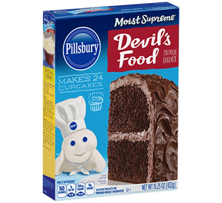 Pillsbury Moist Supreme Premium Cake Mix Devil's Food