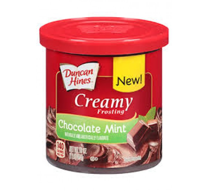 Duncan Hines Creamy Frosting, Chocolate Mint (454g)