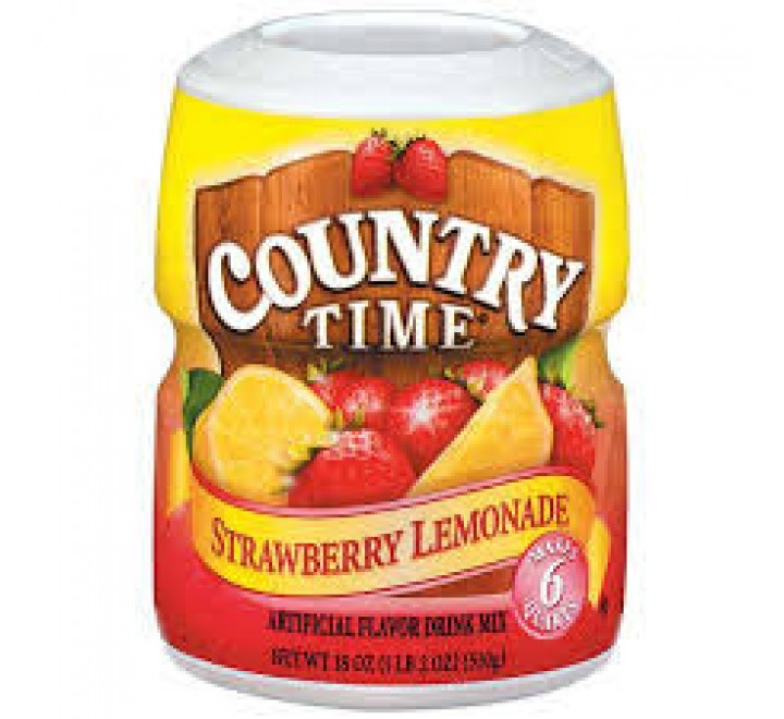 Country Time Strawberry Lemonade Drink Mix (510g)