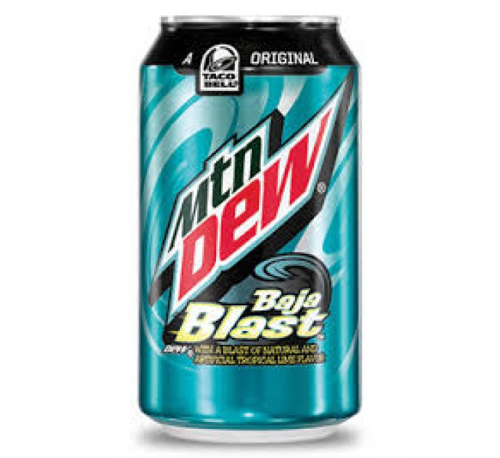 Mountain Dew Baja Blast (355ml)