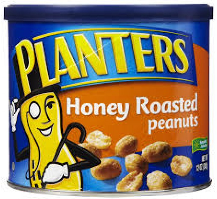 Planters Honey Roasted Peanuts (340g)