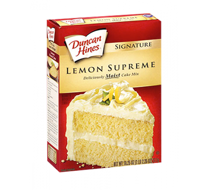 Duncan Hines Lemon Supreme Cake Mix (468g)