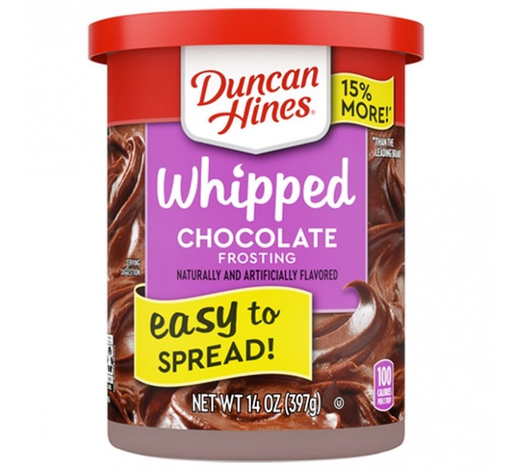 Duncan Hines Frosting, Whipped Chocolate (397g)