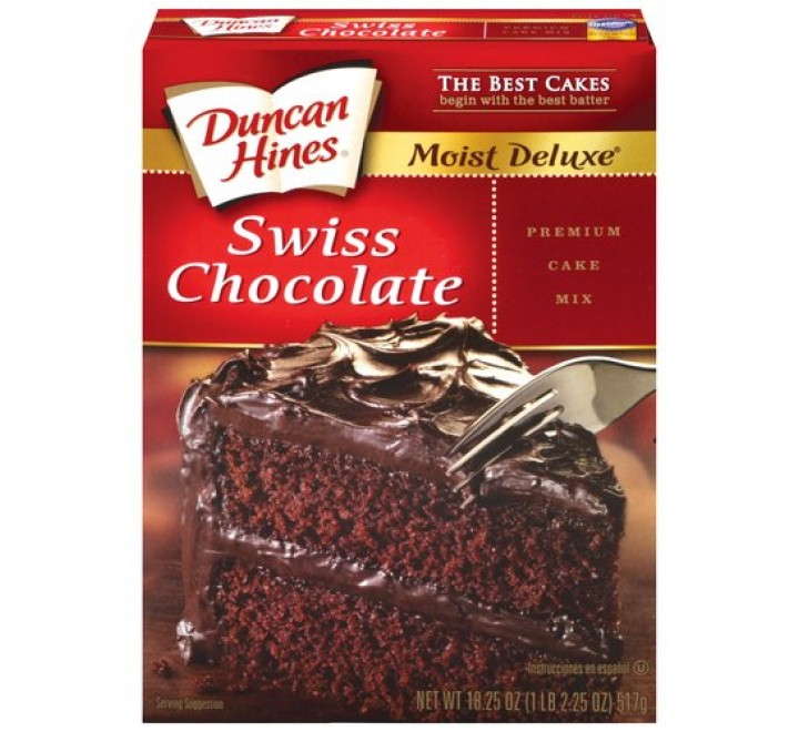 Duncan Hines Swiss Chocolate Cake Mix