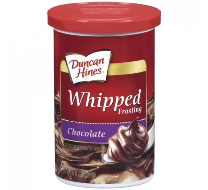 Duncan Hines Whipped Chocolate Frosting (397g)