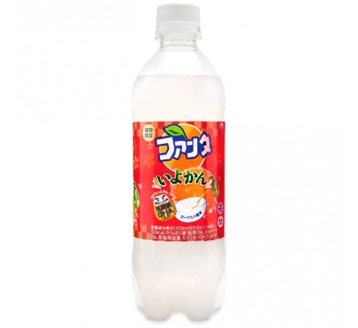 Fanta Iyokan - Orange Yogurt (490ml)
