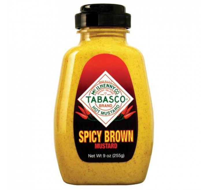 Tabasco Mustard  Spicy Brown (255g)