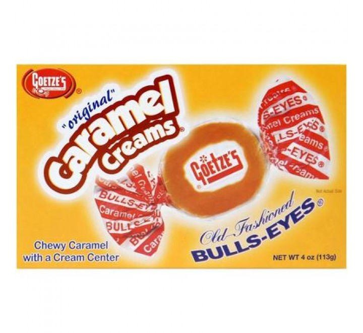 Goetze's Caramel Creams Old-Fashioned Bull's Eyes (113g)