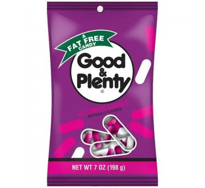 Good & Plenty Licorice Candy (198g)