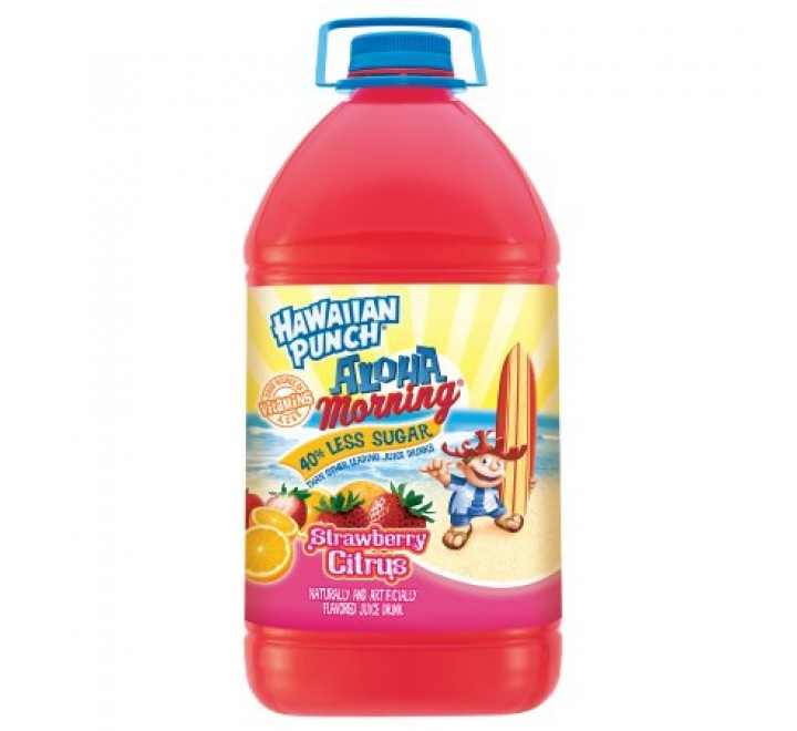Hawaiian Punch Aloha Morning Strawberry Citrus (3.78L)