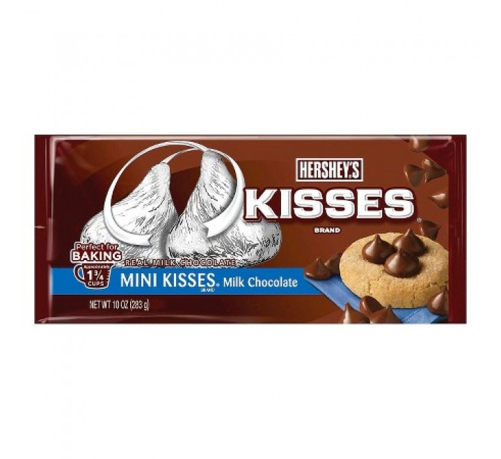 Hershey's Mini Kisses Chocolate Chips (283g)